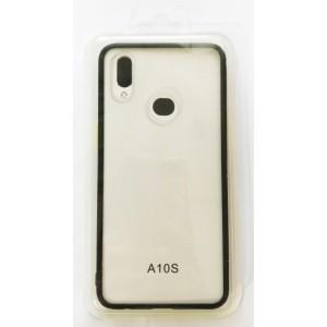 Накладка Gingle Clear Case Samsung A10s (A107) black/yellow