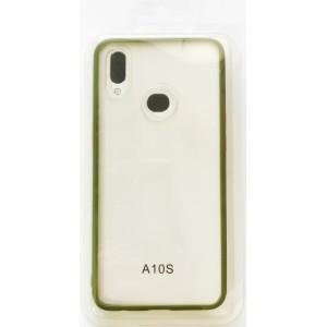 Накладка Gingle Clear Case Samsung A10s (A107) olive/orange