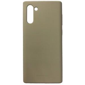 Накладка MERCURY SILICONE CASE for Samsung Note 10 stone