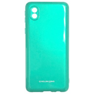Силикон MOLAN CANO Glossy Jelly Case Samsung A01 Core (A013) light green