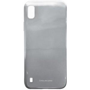 Силикон MOLAN CANO Glossy Jelly Case Samsung A10 (A105) grey