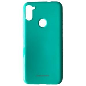 Силикон MOLAN CANO Glossy Jelly Case Samsung A11 (A115) light green