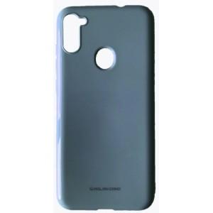 Силикон MOLAN CANO Glossy Jelly Case Samsung A11 (A115) metallic blue