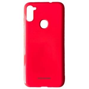 Силикон MOLAN CANO Glossy Jelly Case Samsung A11 (A115) red