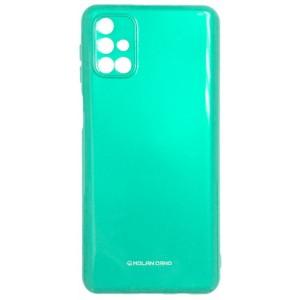 Силикон MOLAN CANO Glossy Jelly Case Samsung M31s (M317) light green
