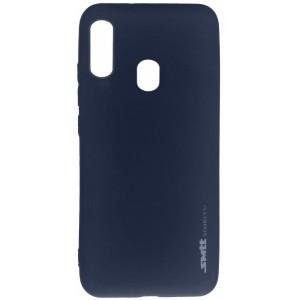 Силикон Smitt Samsung A20/A30 (A205/A305) blue