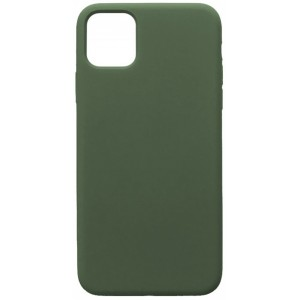 GRAND Full Silicone Case for iPhone 11 (58) pine green
