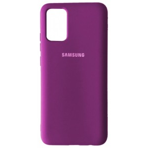 Silicone Case Full for Samsung A02S (A025) Grape