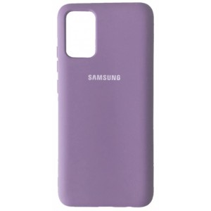 Silicone Case Full for Samsung A02S (A025) Lilac