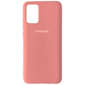 Silicone Case Full for Samsung A02S (A025) Pink