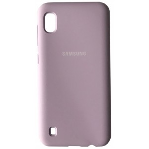 Silicone Case Full for Samsung A01 (A015) Lilac