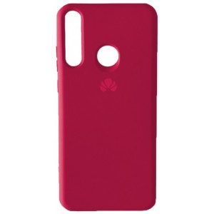 Silicone Case Full for Huawei P40 Lite e / Y7p Hot Pink