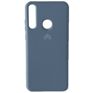 Silicone Case Full for Huawei P40 Lite e / Y7p Lavander Grey