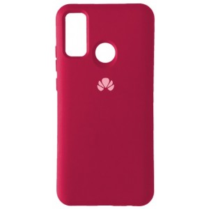 Silicone Case Full for Huawei P Smart 2020 Hot Pink