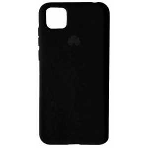 Silicone Case Full for Huawei Y5P 2020 Black