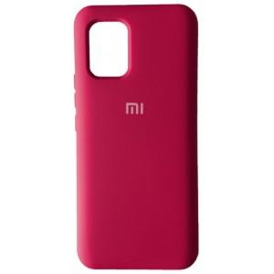 Silicone Case Full for Xiaomi Mi 10 Lite Hot Pink