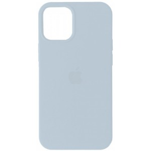 Silicone Case Full for iPhone 12/ 12 Pro (43) light blue