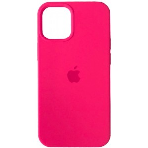 Silicone Case Full for iPhone 12/ 12 Pro (47) hot pink