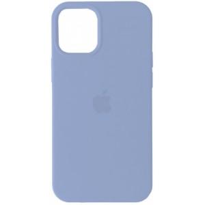 Silicone Case Full for iPhone 12 mini ( 5) lilac cream