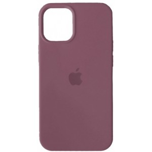 Silicone Case Full for iPhone 12/ 12 Pro (62) lilac pride