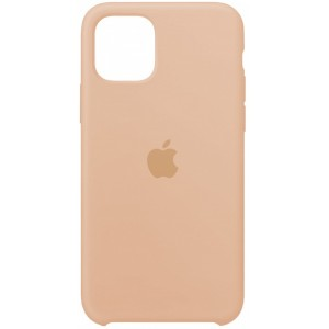 Silicone case for iPhone 11 Pro (19) pink sand