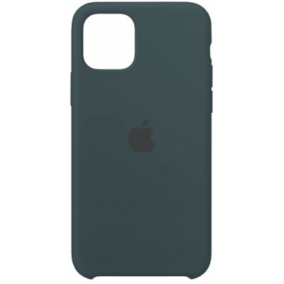 Silicone case for iPhone 11 (35) mist blue