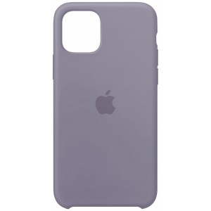 Silicone case for iPhone 11 Pro (46) lavander gray
