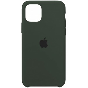 Silicone case for iPhone 11 Pro (49) forest green