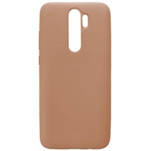 GRAND Full Silicone Cover for Xiaomi Redmi 8A pink sand