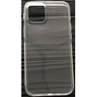 Силикон 0.5mm с заглушками+защита камеры iPhone 12 /12 Pro Clear