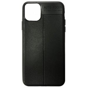 Силикон Auto Focus кожа iPhone 11 black