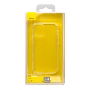 Силикон Baseus Simple Case For iPhone 12 mini Transparent