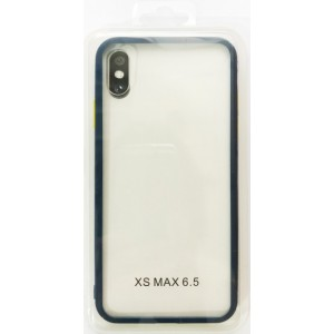 Накладка Gingle Clear Case iPhone XS Max blue/yellow