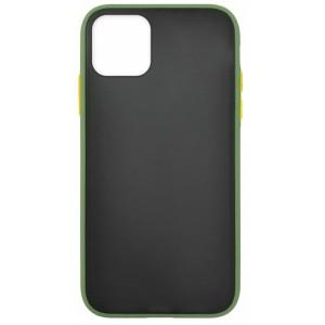 Накладка Gingle Matte Case iPhone 12 /12 Pro green/orange