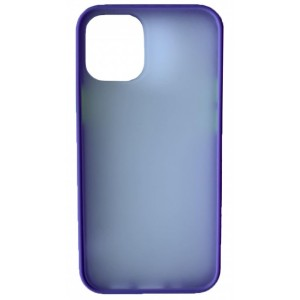 Накладка Gingle Matte Case iPhone 12 /12 Pro lilac/green