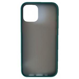 Накладка Gingle Matte Case iPhone 12 /12 Pro pacific green/orange