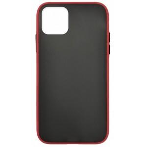 Накладка Gingle Matte Case iPhone 12 /12 Pro red/black