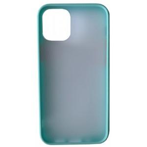 Накладка Gingle Matte Case iPhone 12 /12 Pro sky blue/red