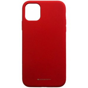 Накладка MERCURY SILICONE CASE for iPhone 11 Pro Max red