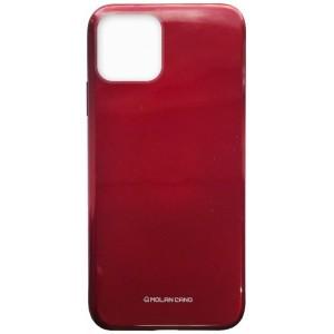 Силикон MOLAN CANO Glossy Jelly Case iPhone 11 Pro marsala