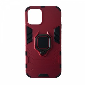 Накладка Protective for iPhone 12 /12 Pro Red