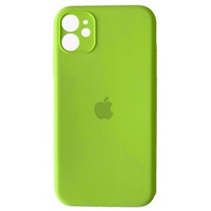 Silicone Case Full Camera for iPhone 11 (60) party green