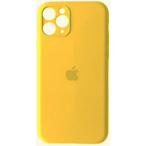 Silicone Case Full Camera for iPhone 11 Pro ( 4) yellow