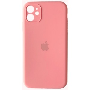 Silicone Case Full Camera for iPhone 11 ( 6) light pink