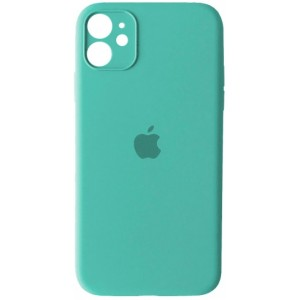 Silicone Case Full Camera for iPhone 11 (21) azure