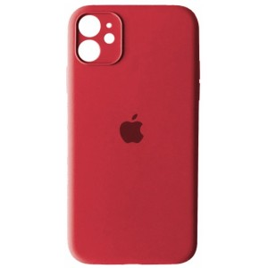 Silicone Case Full Camera for iPhone 11 (65) pink citrus
