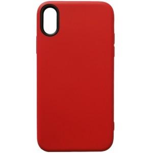 Силикон WOW Case iPhone X/XS red