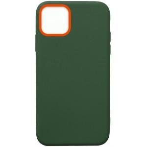 Силикон WOW Case iPhone 11 Pro dark green