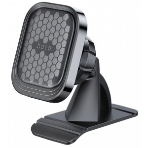 Автодержатель Hoco S47 Fuerte series center console magnetic car holder Black