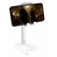 """Настольный держатель Hoco PH27 Soaring metal desktop stand 4,7-10"""" White"""